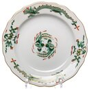 Cake plate rich green dragon pattern Meissen New Cutout...