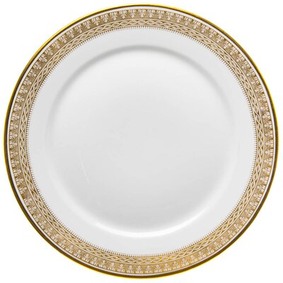 dinner plate very rich gold painture Meissen T Glatt designed by Rudolf Hentschel form 1503-147 1st Choice 1905-1924 (22,8cm)