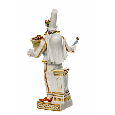 figurine Pulcinella Meissen Commedia del Arte painted 1st Choice very good condition