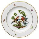 dinner plate bird pattern & insects Meissen New Cutout...