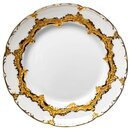 cake plate gold bronce Meissen B-form 2nd Choice after...