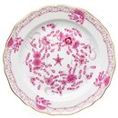 cake plate rich indic purple pattern Meissen New Cutout...