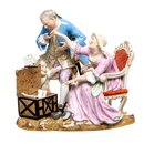 figurine the old woman in love  Meissen designed by...
