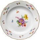 dinner plate insects & flowers Meissen New Cutout 1st...