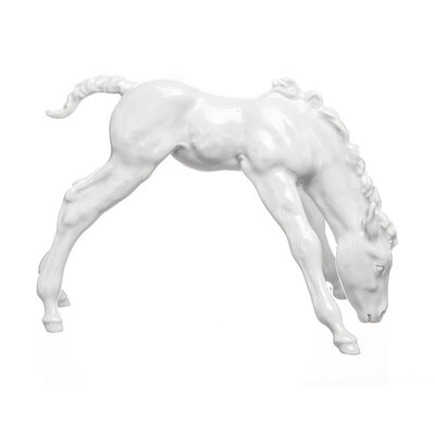 figurine trinking Foal Meissen designed by Willy Muench Animals 1st Choice form A 1269 1965 hight:12cm
